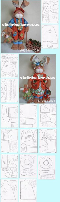 Read about town and country minivan. Check the webpage to get more information This is must see web content. Animal Sewing Patterns, Stuffed Animal Patterns, Craft Patterns, Doll Patterns, Doll Crafts, Sewing Crafts, Sewing Projects, Easter Projects, Easter Crafts