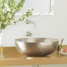 Maestro Oval Sink Nickel now featured on Fab.com $979