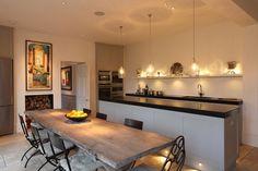 Modern kitchen design essentials - 10 of the best Beautiful Kitchens, Wooden Kitchen, Contemporary Kitchen Design, Contemporary Kitchen, Kitchen Essentials, Kitchen Lighting, Modern Kitchen Design, Fixer Upper Kitchen, Kitchen Design