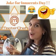 Did you believe me yesterday when I told you I was going to be in Masterchef 2018?  Innocent innocent innocent! You felt for my joke! On Innocents day we play inocentadas (pranks and jokes) on friends hoping the innocent victim believes the false thing.  The 28th of December is Innocents day similar in spirit to the American April Fools Day.  The joke I had put online was a day early and even my close friends and family felt for it (not reading the hashtag #diadelossantosinocentes ) ! Now…
