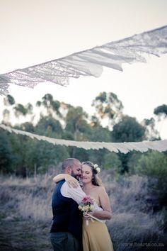 Kalmoesfontein bridal couple