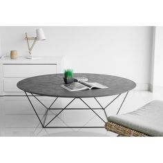 Find solid wall idea stock images in HD and millions of other royalty-free stock photos, illustrations and vectors in the Shutterstock collection. Wire Coffee Table, Round Coffee Table, Table Beton, French Apartment, Table Dimensions, Deco Design, Sweet Home, Decoration, Dining Table
