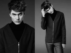 men collection - Gabriela Hezner designer  fot. Wojciech Zarychta men outfit , men  clothes    model Jacoob  / ASmanagement  agency