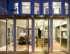 Feldman Architecture - pivoting french doors