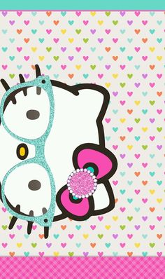 Imagen de hearts, hello kitty, and kawaii