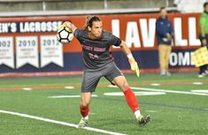 For the first time in nearly two years, Stony Brook's men's soccer defeated a nationally ranked opponent. College Soccer, Stony Brook, The Victim, S Man, Christian, Running, Sports, Tops, Hs Sports