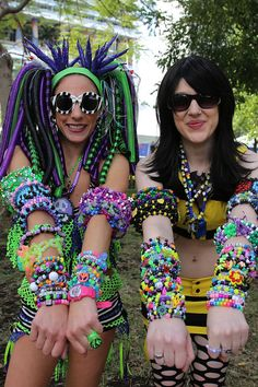 The 40 Most Outrageous Street Style Looks From Ultra Music Festival
