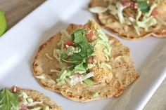 Fish tacos and grain free tortillas