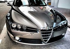 Alfa Romeo 159. Mine is standard silver but may have to get it wrapped in chrome ❤️❤️❤️