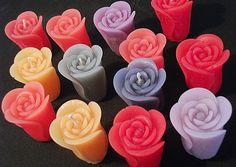Vela em formato de flor alta Candle Art, Light My Fire, Candle Making, Soap, Crafts, Sales, Inspiration, Ideas, Beautiful Candles