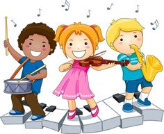 Children playing with Musical Instruments Stock Photo Music For Kids, Kids Songs, Children Music, Young Children, Musical Instruments Clipart, Music Clipart, School Clipart, Preschool Music, Clip Art