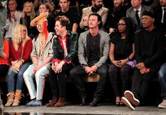 samuel l jackson  one for the guys fashion show 2014 | ... of London Collections: MenSamuel L Jackson, Luke Evans, Nick Grimshaw