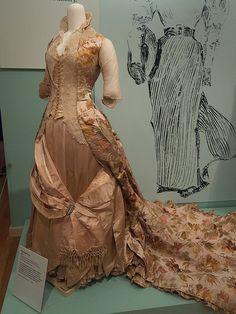 DAR Museum 1888 Evening Dress | Flickr - Photo Sharing!