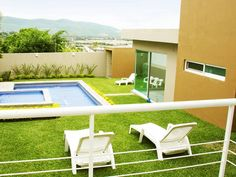Una gran satisfacción es tener ganas de pasar un sábado en tu alberca bajo el sol, y poder hacerlo. #Cuernavaca