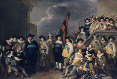 Jacob Backer, Civic Guards from the Company of Captain Cornelis de Graeff, 1642, 367 x 511 cm, Collection Rijksmuseum Amsterdam.