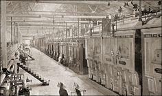 Boiler room, The World's Columbian Exposition 1893, Chicago