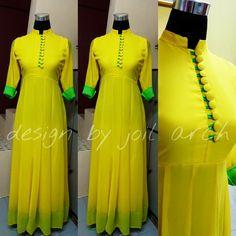 Anarkali Dress, Anarkali Suits, Indian Wedding Fashion, Indian Fashion, New Fashion Saree, Fashion Dresses, Indian Gowns, Indian Outfits, Cotton Dress Indian