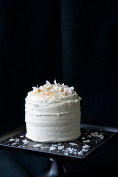 Matcha Coconut Cake, gluten free cake recipe.