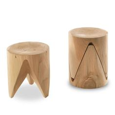 Buy online J+i zig + zag By riva low stackable solid wood stool design Sakura Adachi, j+i Collection Wood Chair Design, Wood Stool, Wood Design, Wood Chairs, Stool Chair, Lounge Chairs, Chair Cushions, Dining Chairs, Wooden Furniture