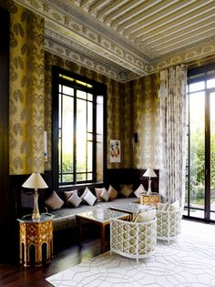 The Royal Mansour Hotel in Marrakech