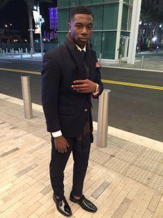 — billidollarbaby: Pharrell Williams by Hunter &. Prom Outfits For Guys, Prom For Guys, Prom Suits For Men, Gq Style, Modern Gentleman, Well Dressed Men, Attractive Men, Dress Codes, Dapper