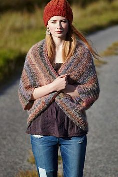 Ombre Cocoon Cardigan (Be warm & colorful)