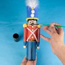 Cardboard Tube Soldier - Craft Project Ideas