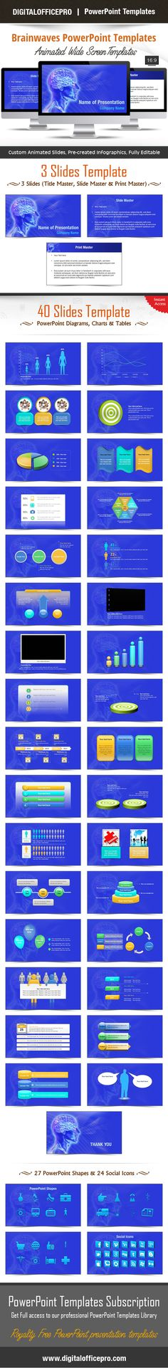 Key To Success In Your Hands PowerPoint Template Backgrounds - brain powerpoint template