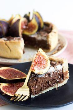 Silky Vegan Chocolate Tart