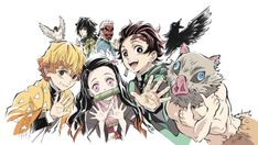 I'm not gonna lie, the ending of Demon Slayer made me cry a bit. This anime is amazing and is getting a season and a movie Soon so if you haven't seen it nows a perfect time. Manga Art, Manga Anime, Anime Art, Otaku Anime, Demon Slayer, Slayer Anime, Fanarts Anime, Anime Characters, Anime Style