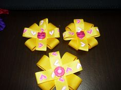 Visita nuestra pagina :http://manualidadeslahormiga.jimdo.com https://www.facebook.com/hormigamanualidades moños pequeños y fáciles para decorar accesorios. ...