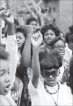 Black power. Women's movement.