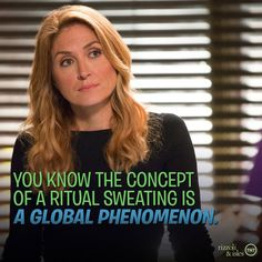 "Rizzoli&Isles Page Liked · 17 hrs ·   ·Jane: ""Everyone always gloms on to the good ideas."" #MauraMonday 3/23/15"