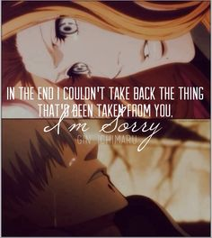 #ichimaru #gin #bleach In the end I couldn't take back the thing that'd taken from you, I'm sorry — Gin Ichimaru