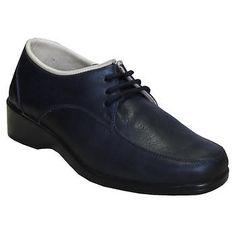 Diyabet Ayakkabısı Modeli Bayan Bağcıklı Lacivert OD02L Ortopedikterlik.com 'da Online Satın AL Men Dress, Dress Shoes, Oxford Shoes, Lace Up, Model, Fashion, Moda, Fashion Styles