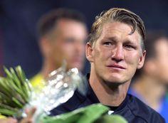 We all cried with you, Basti. #GERFIN #Farewellmatch #Schweinsteiger