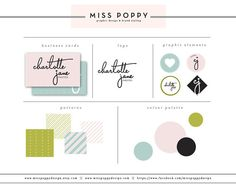 Create a branding board like this      Branding / Marketing / Package / Graphic Design / Logo / Business Cards / Monogram / Pre Made / Typography / Feminine / Chic / Web / Blog /