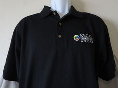 Rare Regal Group WARCRAFT Movie Promo Polo Shirt WOW Diablo Starcraft Size Large