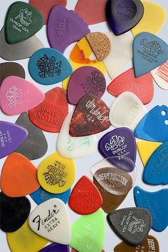 Guitar picks are like men...you hate them, and most of the time you don't need them, but you want them...but when it comes time you do need one they disappear... How convenient aye