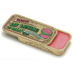 Watermelon Lip Licking Flavored Lip Balm - This Lip Licking flavored lip balm for Soft, Smooth Scented Lips brings back sweet memories! Slide back the lid of this gold vintage slider tin to find the delicious scent of sweet Watermelon housed inside. My Childhood Memories, Childhood Toys, Sweet Memories, Magic Memories, Nostalgia, Candy Lips, Sweet Watermelon, Hygiene, The Good Old Days
