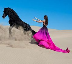 women and horse | The Art Of Being A Feminine Woman: Magnetic Woman - How To Be ...