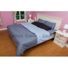 ผ้านวม ผ้าปูที่นอนสีพื้น