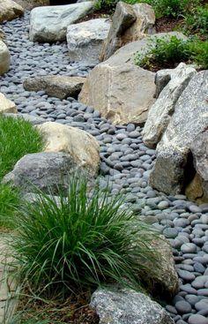55 Stunning Front Yard Rock Garden Landscaping Ideas