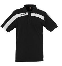 uhlsport Polo Shirt LIGA, schwarz weiß, XXXL, 100208602
