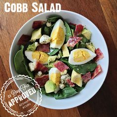 21 Day Fix Cobb Salad