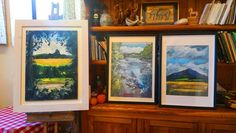 National Botanical Gardens, Mountain Paintings, Home Art, History, Frame, Artist, Nature, Beautiful, Picture Frame