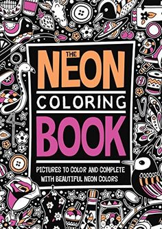 The Neon Coloring Book by Richard Merritt http://www.amazon.com/dp/0843183543/ref=cm_sw_r_pi_dp_yCdKwb0FQZYDA