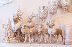 Ooh La La... Reindeer with Bling (960×636) http://www.thegardengates.com/