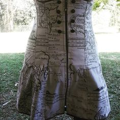 I am really pleased at how my first underbust corset dress turned out. Underbust Corset, Custom Made, Map, Instagram Posts, Dresses, Vestidos, Location Map, Maps, Dress