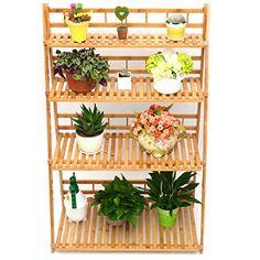 Plant Flower Stand Plant Display Shelf Rack Shelf Bamboo ... https://smile.amazon.com/dp/B01LW0AJUR/ref=cm_sw_r_pi_dp_U_x_3-8pAbGHW0GYD